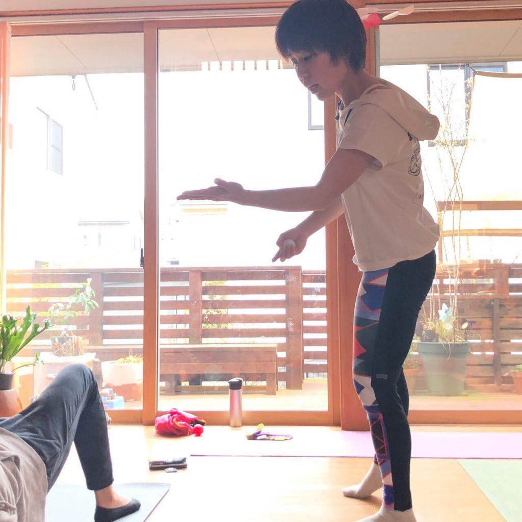 健康イキイキ体操レッスン風景-2